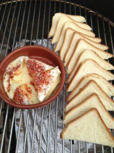 Gesmolten Camembert op de BBQ 3