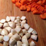 groentestaart wortelen en rapen