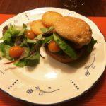 GHENTlemens BBQ Black Bean Burger
