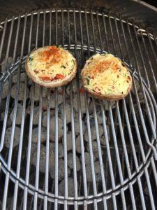 GHENTlemens BBQ gevulde portobello champignons a la pascale naessens