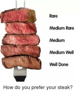 steak op de bbq reverse sear