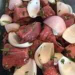 GHENTlemens BBQ Beef Souvlaki