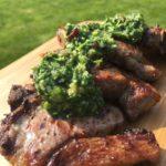 GHENTlemens BBQ Lamskotelet met Chimmichurry