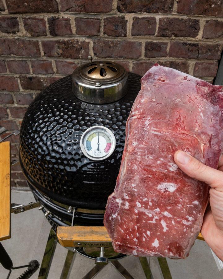 bevroren steak experiment
