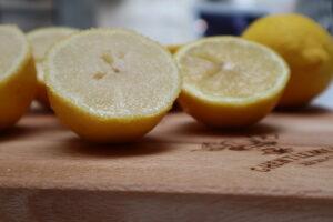 suiker op de citroenen